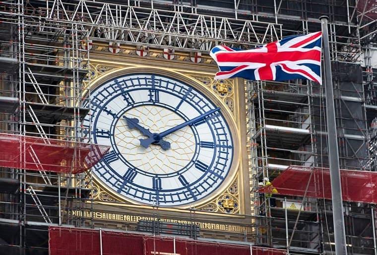 Il Big Ben, l' orologio di Londra