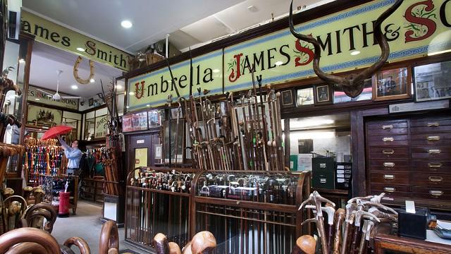 James Smith & Sons interno