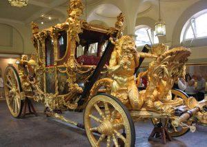 Carrozza dorata di Elisabetta II