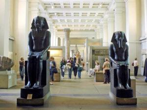 British museum statue egizie
