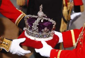 la corona d'inghilterra