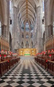 navata abbazia westminster