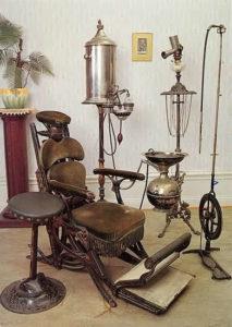 poltrona dentista del 1800
