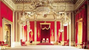Sala del Trono di Buckingam Palace