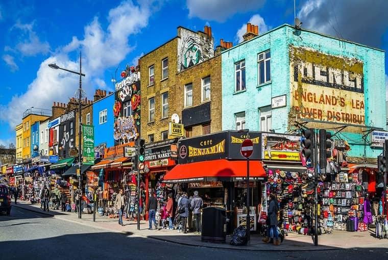 Zone Di Londra Cartina.Zone E Quartieri Di Londra Londonita