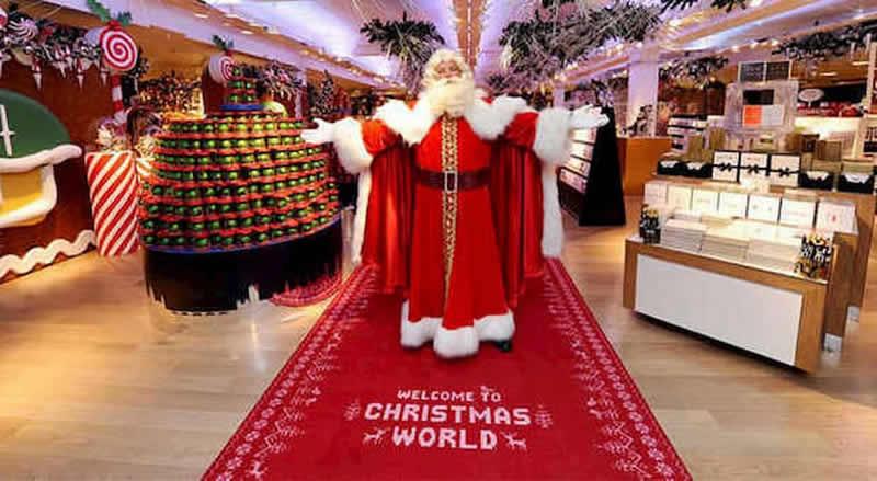 Babbo Natale esclusivo da Harrods