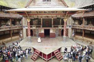 Globe theatre palcoscenico