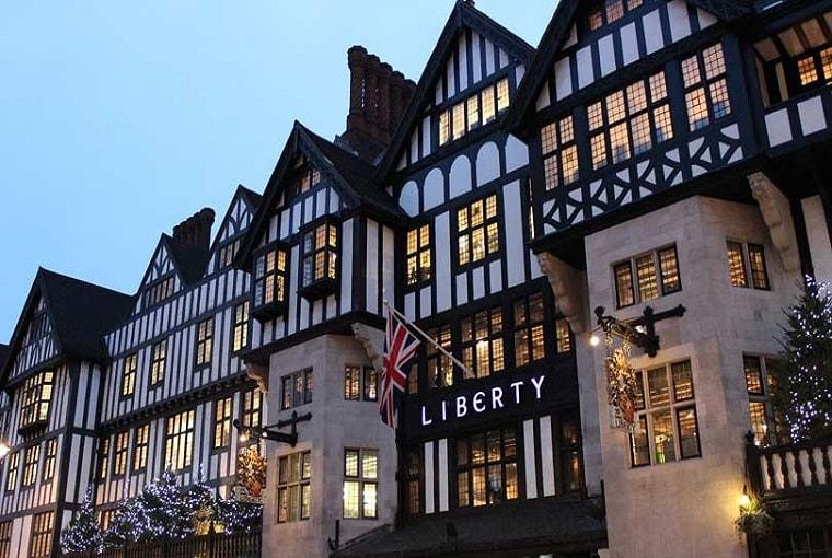 Liberty, storici grandi magazzini di Londra