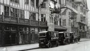 Liberty a Londra vintage