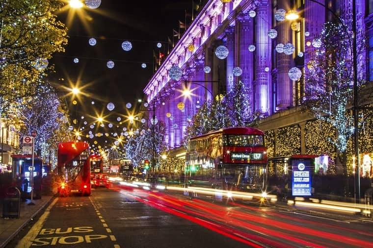 Oxford Street a Natale