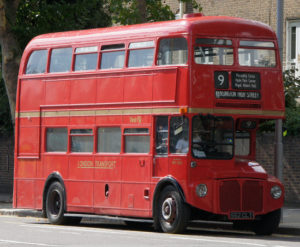 vecchio bus n 9 Londra