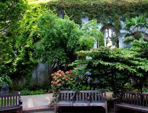 il giardino di St Dunstan in the east
