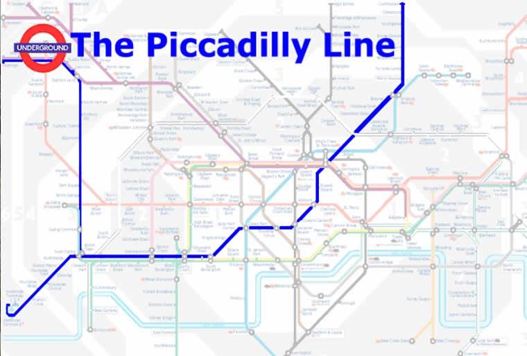 Cartina Metro Londra Con Monumenti.Piccadilly Line Ecco La Linea Piu Importante Di Londra Londonita