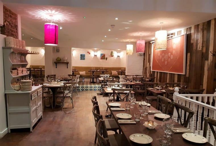 Terra rossa restaurant Londra