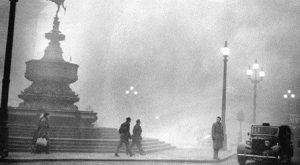 Nebbia a Londra