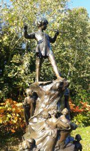la statua di Peter Pan