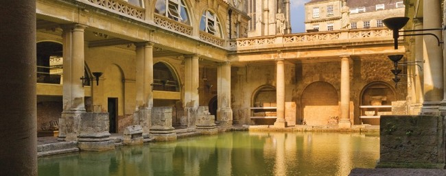 i bagni Romani di Bath
