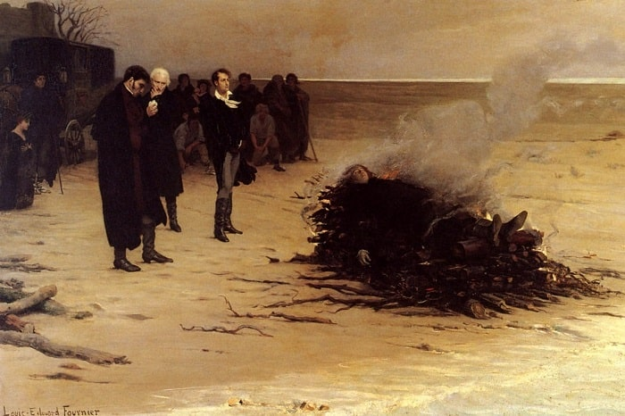 La tragica morte di Percy Shelley