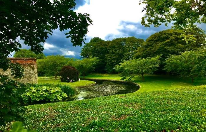 i giardini di Eltham Palace