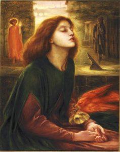 Beata Beatrix di Dante Gabriel Rossetti