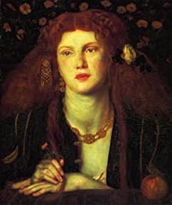 Bocca Baciata di Dante Gabriel Rossetti