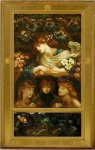 The Blazed Damozel, Dante Gabriel Rossetti