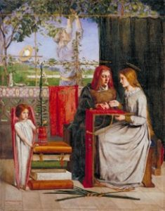 The girlhood of Mary Virgin Dante Gabriel Rossetti