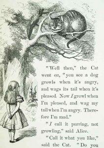 versione originale di Alice nel paese delle meraviglie