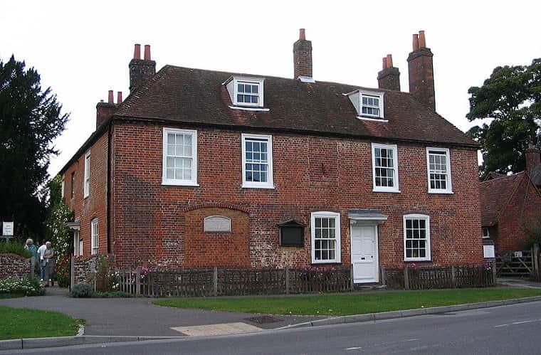 Jane Austen e Il cottage di Chawton dove visse alcuni anni