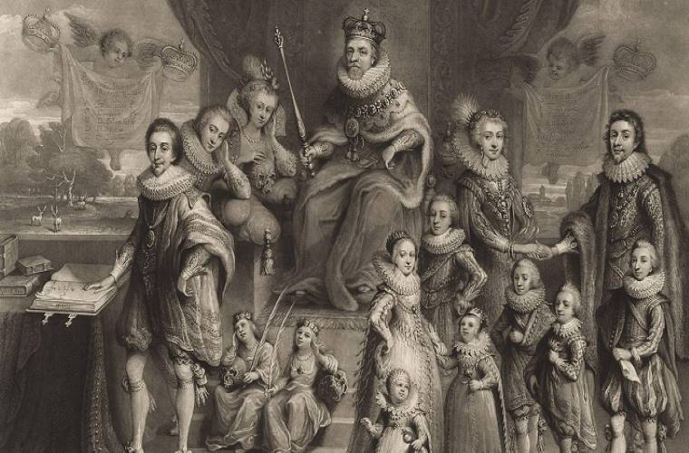 Giacomo I - Londonita